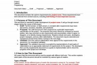 Simple Business Requirements Document Templates ᐅ Template Lab within Sample Business Requirement Document Template