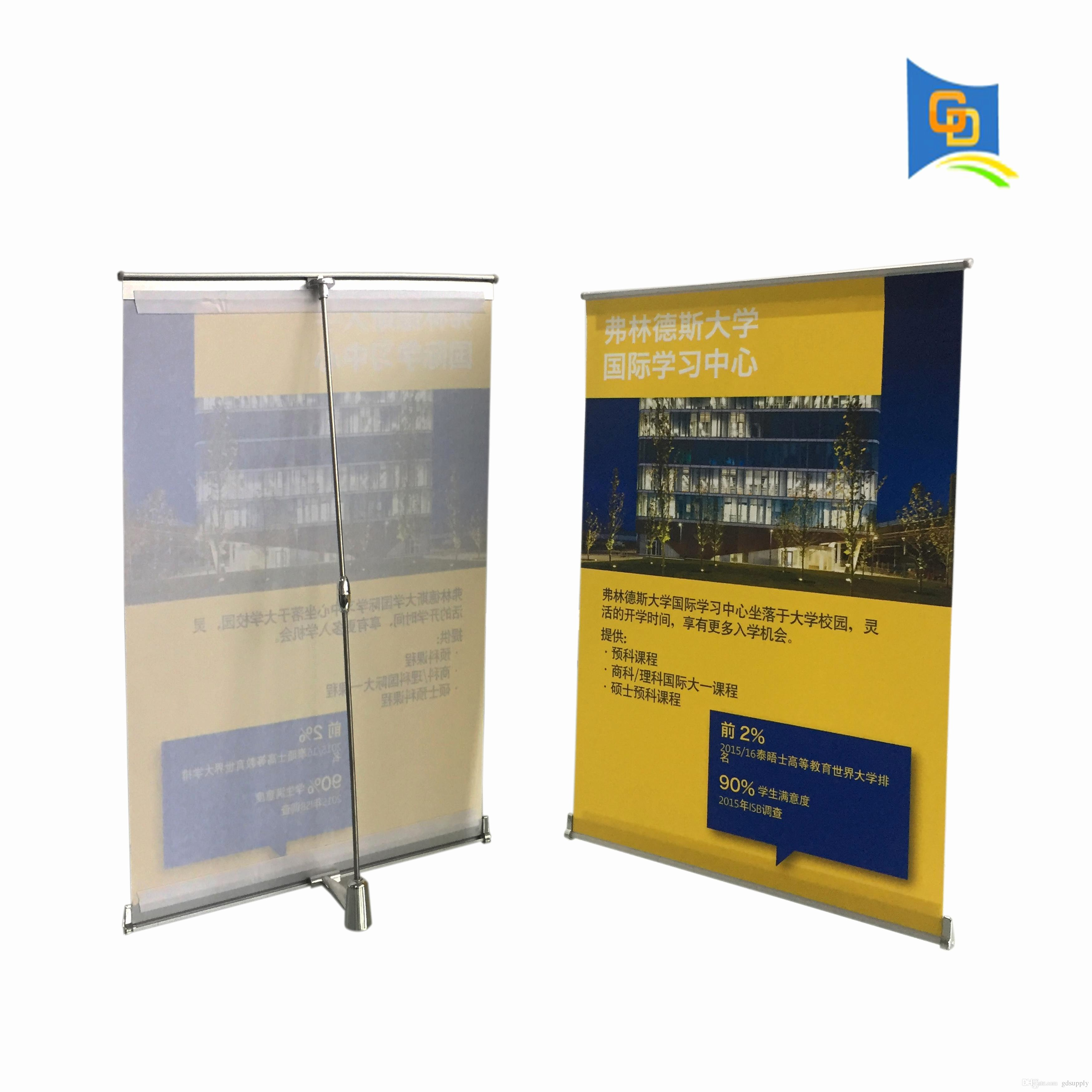 Simple Pop Up Banner Stand  Acilmalumat Within Staples Banner Template