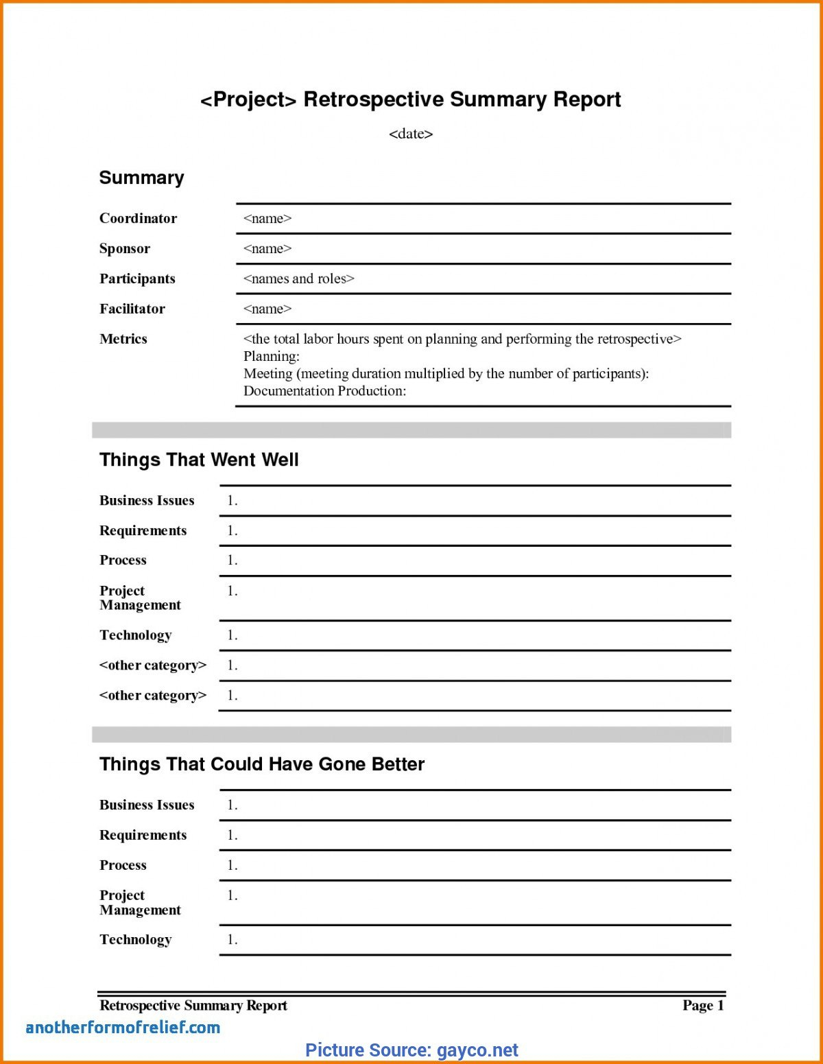 Simple Project Lessons Learnt Template Lessons Learnt Report With Regard To Lessons Learnt Report Template