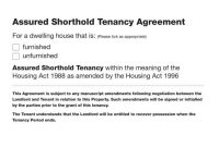 Simple Tenancy Agreement Templates  Pdf  Free  Premium Templates in Assured Shorthold Tenancy Agreement Template