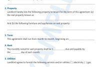 Simple Tenancy Agreement Templates  Pdf  Free  Premium Templates regarding House Share Tenancy Agreement Template