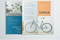 Simple Tri Fold Brochure  Design Inspiration  Graphic Design with 3 Fold Brochure Template Free Download
