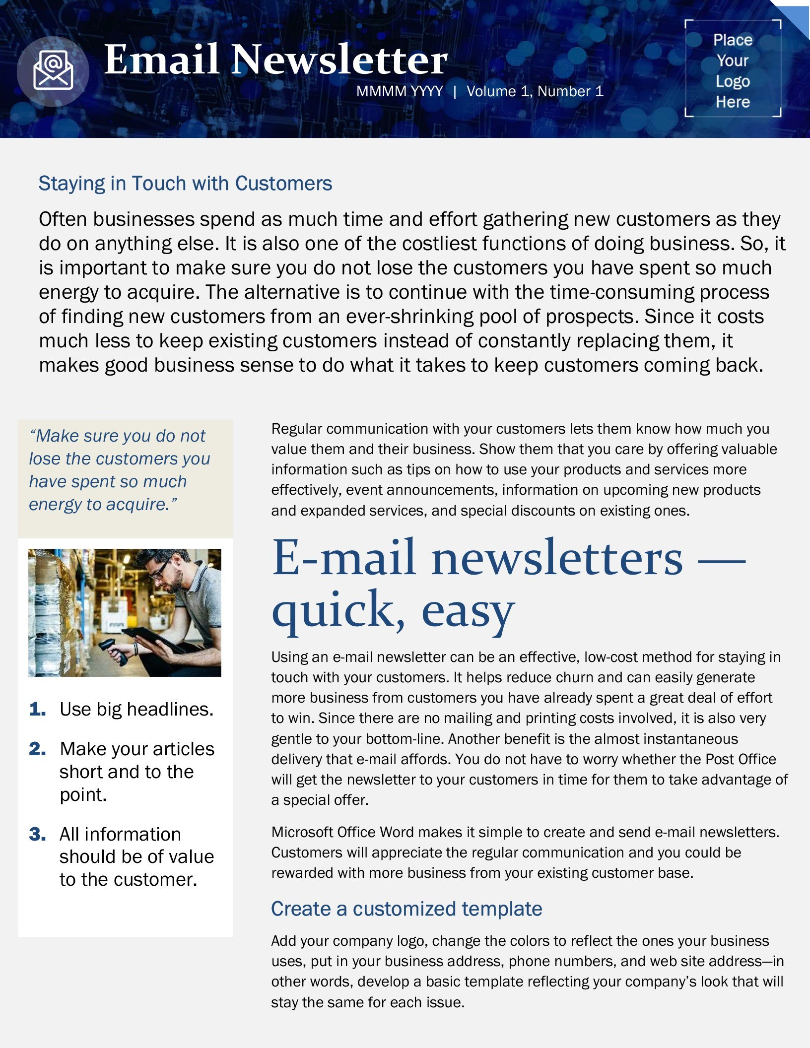 Small Business Email Marketing Template With Regard To Microsoft Business Templates Small Business