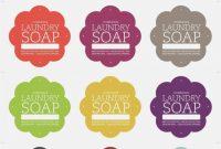 Soap Label Template Free  Template Design Ideas – Free Printable in Free Printable Soap Label Templates