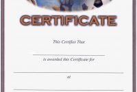 Soccer Award Certificates  Blank Certificate Templates  Award intended for Gymnastics Certificate Template