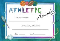 Soccer Award Certificates Template  Kiddo Shelter  Children Crafts for Sports Day Certificate Templates Free