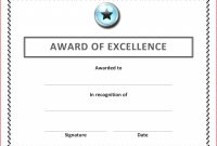 Soccer Certificate Template Word  Certificatetemplateword with regard to Soccer Certificate Template