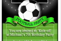 Soccer Ticket Invitation Template Free Best Of Soccer Ticket intended for Soccer Thank You Card Template