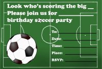 Soccer Ticket Invitation Template Free Best Of Soccer Ticket regarding Soccer Thank You Card Template