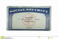 Social Security Card Template Pdf  Wesleykimlerstudio in Ssn Card Template