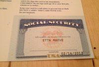 Social Security Card Template Pdf  Wesleykimlerstudio regarding Ssn Card Template