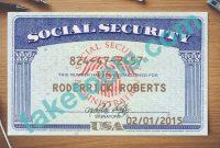 Social Security Card Template  Trafficfunnlr in Fake Social Security Card Template Download