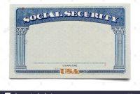 Social Security Card Template  Trafficfunnlr inside Social Security Card Template Psd