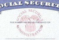 Social Security Card Template  Trafficfunnlr inside Ss Card Template