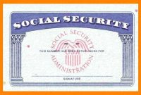Social Security Card Template  Trafficfunnlr intended for Social Security Card Template Psd