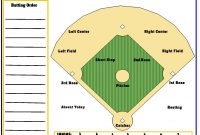 Softball Lineup Template Within Ideas Unbelievable Excel Card intended for Softball Lineup Card Template