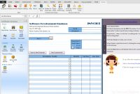 Software Development Invoice Sample intended for Software Development Invoice Template