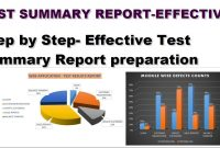 Software Testing Tutorials  How To Prepare Test Summary Report pertaining to Test Summary Report Excel Template