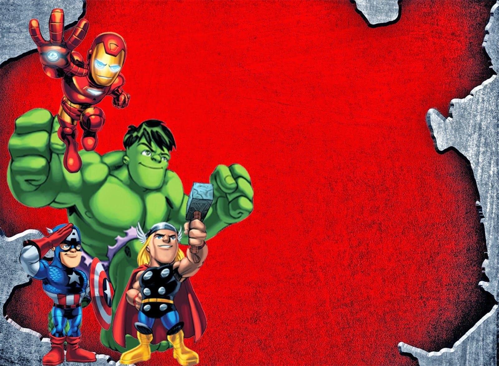 Special Birthday Invitation Template Avengers Design Online Inside Avengers Birthday Card Template