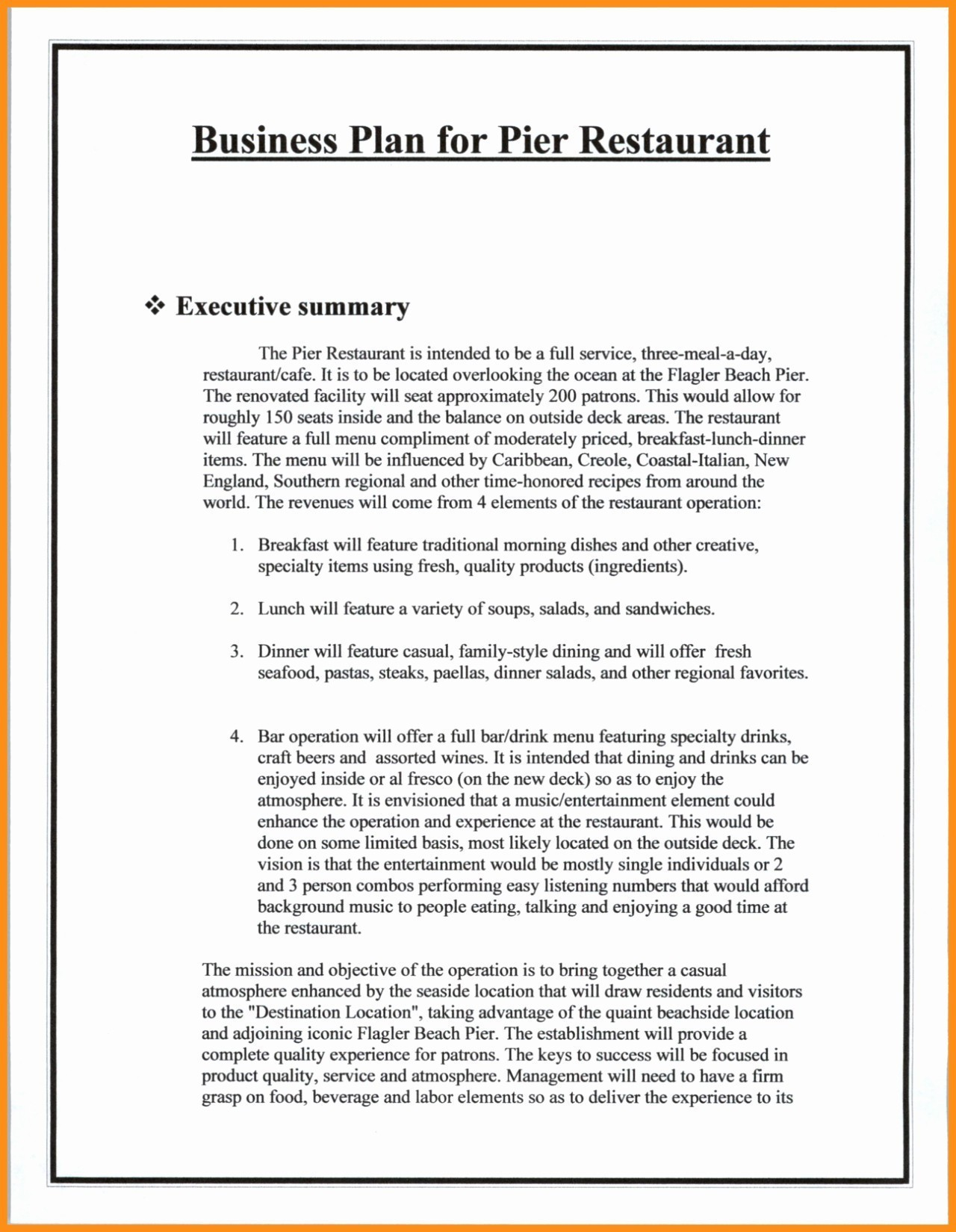 Sports Bar Business Plan Template Free Valid Sports Bar Business Throughout Sports Bar Business Plan Template Free