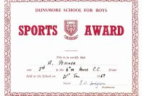 Sports Certificates Templates Free Download – Emelinespace regarding Sports Day Certificate Templates Free