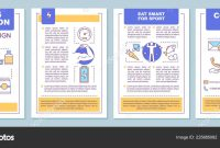Sports Nutrition Brochure Template Layout Bcaa Proteins Vitamins throughout Nutrition Brochure Template
