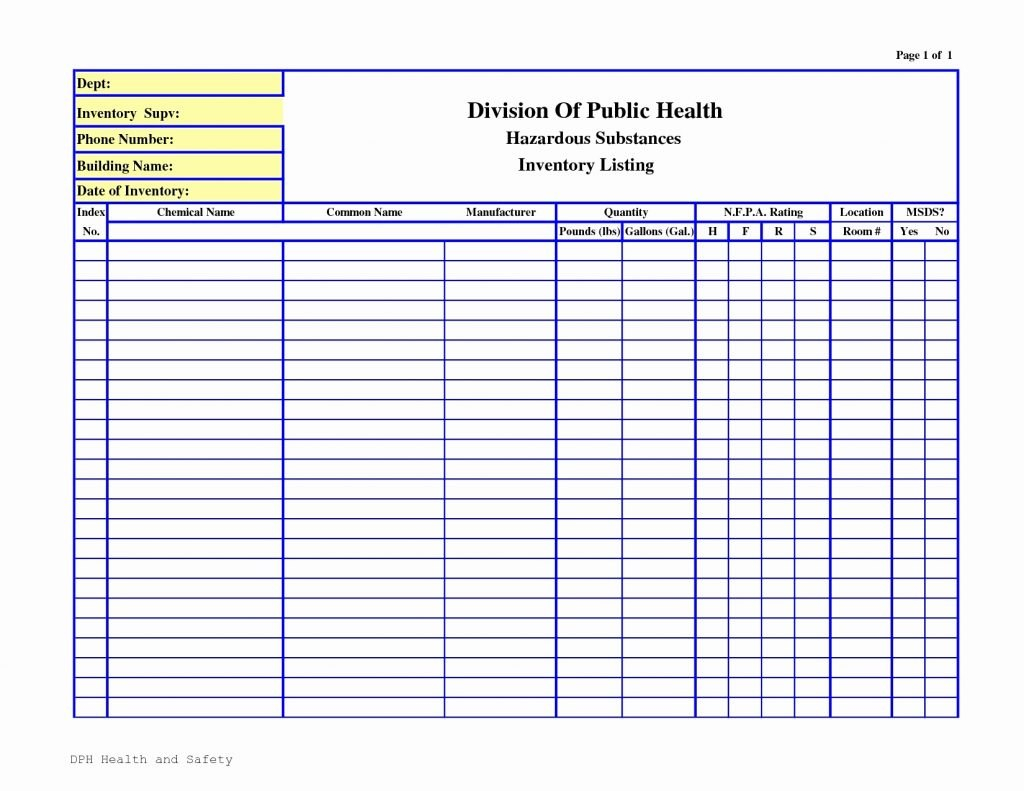 Spreadsheet Hotel Housekeeping Inventory Linen Sheet Luxury Intended For Stock Report Template Excel