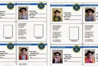 Spy Id Card  We Also Sent Each Boy Home With His Own Set Of Gag in Spy Id Card Template