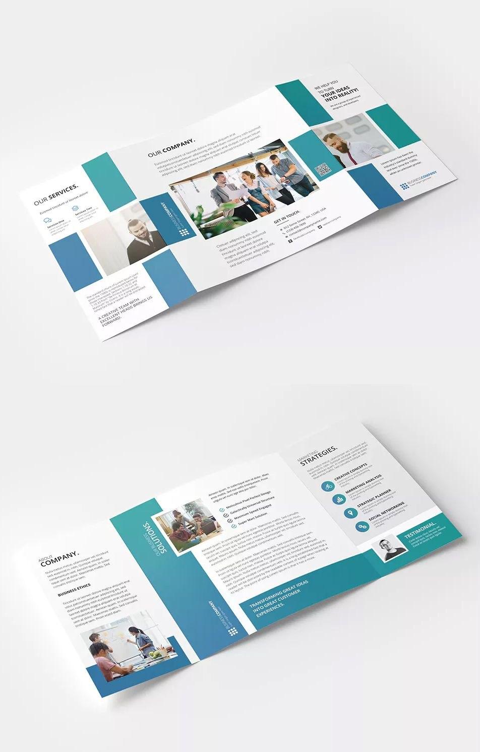 Square Gate Fold Brochure Template Psd  Cmyk Color Mode   Dpi Within Gate Fold Brochure Template