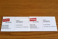 Staples Custom Business Cards Luxury Business Cards Staples Custom pertaining to Staples Banner Template
