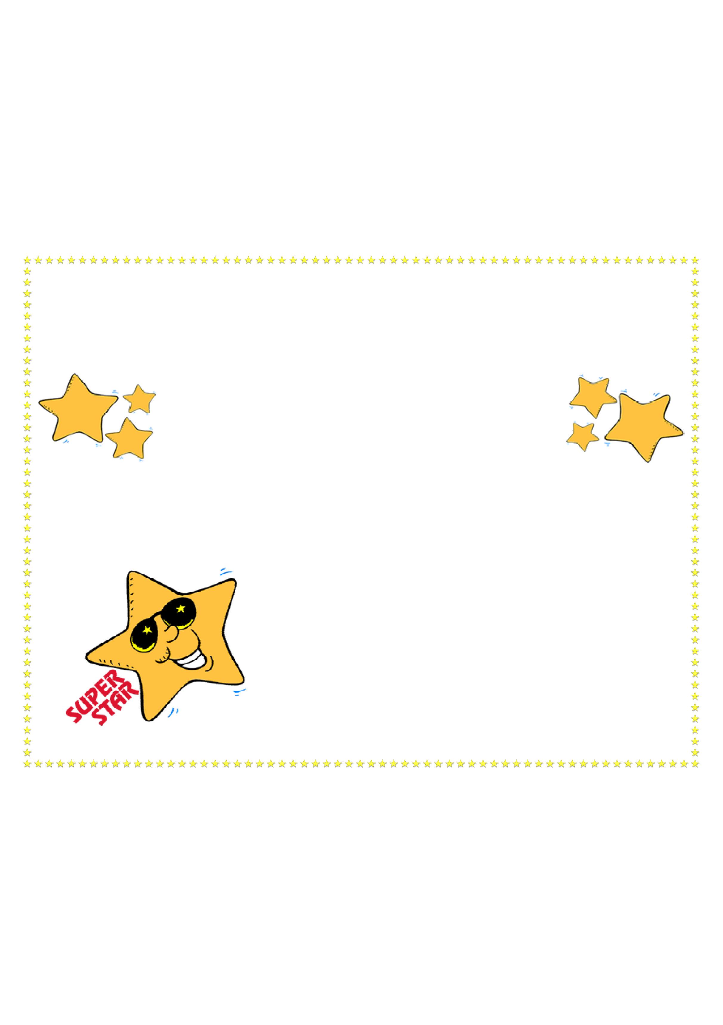 Star Award Certificate Template Free Download Intended For Star Award Certificate Template