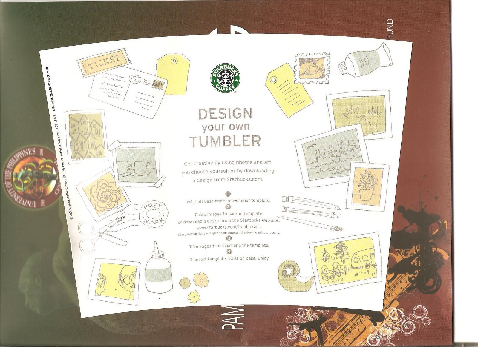 Starbucks Tumbler Template Create Your Own Blank Ridz Sg Tumbler In Starbucks Create Your Own Tumbler Blank Template