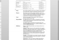Strategy Team Procedure  Mp inside Strategic Management Report Template