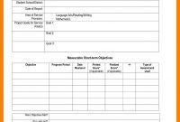 Student Progress Report Sample  Phoenix Officeaz within Monthly Progress Report Template