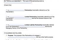 Stupendous Partnership Agreement Template Free Ideas Simple Business inside Free Simple General Partnership Agreement Template
