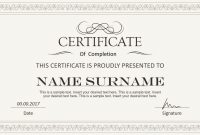 Stylish Certificate Powerpoint Templates  Slidemodel with regard to Award Certificate Template Powerpoint