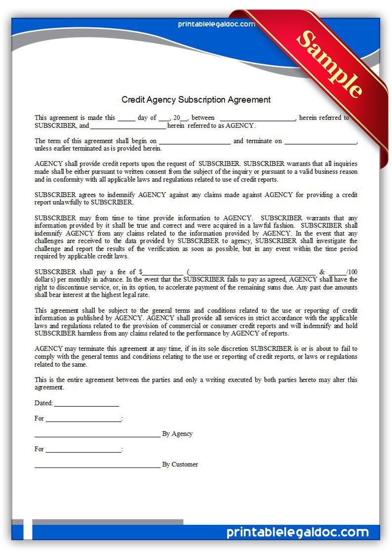 Subscription Agreement Sample Pertaining To Saas Subscription Agreement Template