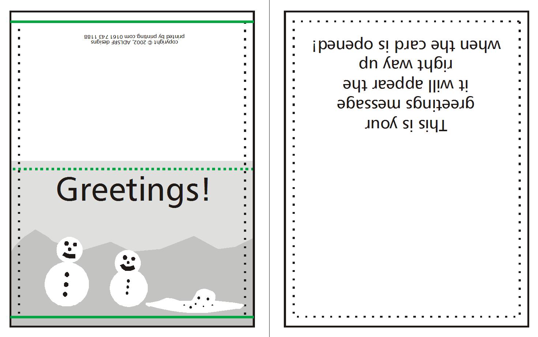 Supplying Greeting Card Artwork For Print  Wwwwholesaleprintconz Inside Indesign Birthday Card Template