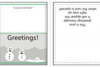Supplying Greeting Card Artwork For Print  Wwwwholesaleprintconz throughout Quarter Fold Card Template