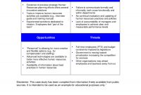 Swot Analysis Template  Fillable Printable Pdf  Forms  Handypdf throughout Strategic Analysis Report Template