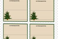 Table Card Cliparts Png Download    Free Transparent in Table Place Card Template Free Download