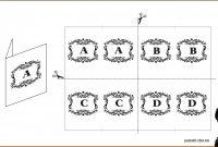 Table Name Cards Template Card Fantastic Ideas Free Word Meeting in Table Name Card Template