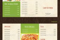 Takeaway Menu Designs  Psd Ai  Free  Premium Templates throughout Takeaway Menu Template Free