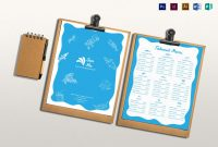 Takeout Menu Design Template In Psd Word Publisher Illustrator with regard to Take Out Menu Template