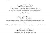Tea Wedding Menu Transparent Png Image  Clipart Free Download intended for Wedding Menu Choice Template