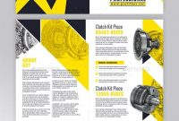 Technical Data Brochure Template Psd Indesign Indd  Brochure regarding Technical Brochure Template