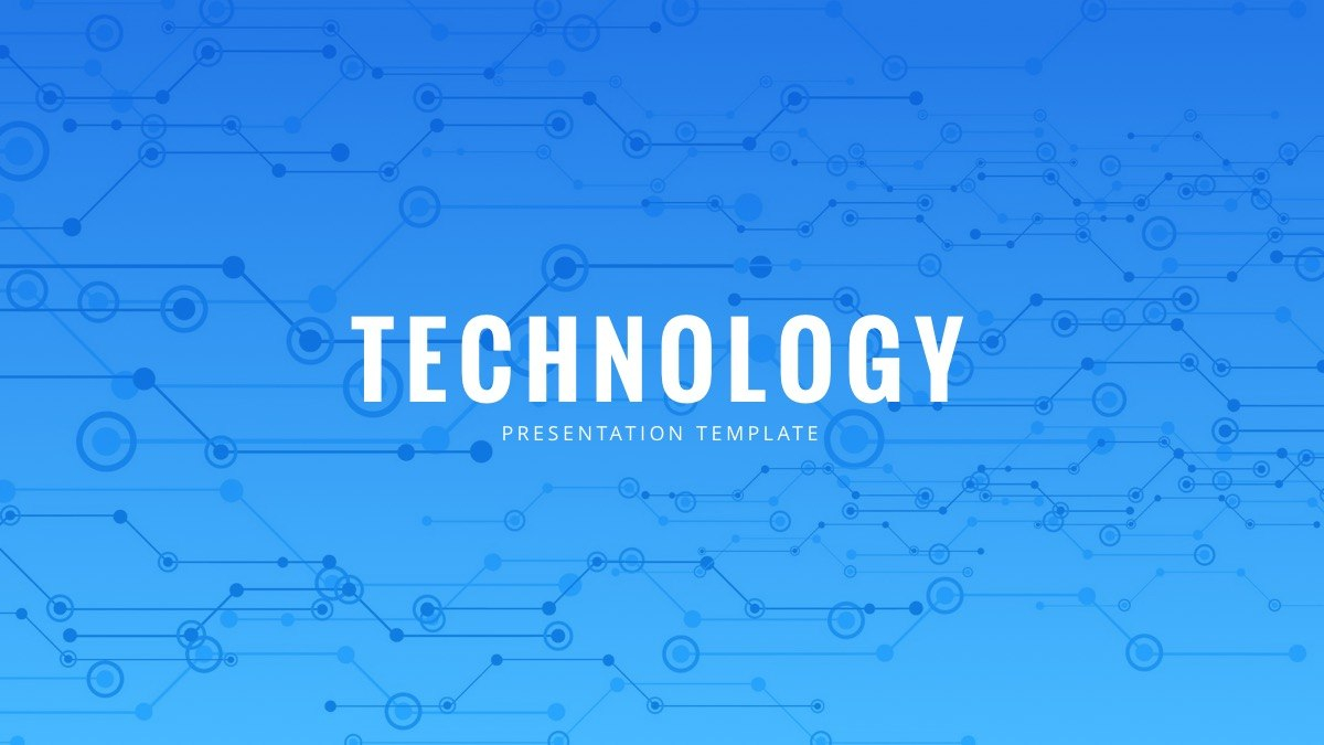 Technology Powerpoint Template  Free Powerpoint Presentation Throughout Powerpoint Templates For Technology Presentations
