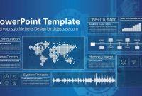 Technology Screen Powerpoint Template  Slidesbase inside Powerpoint Templates For Technology Presentations