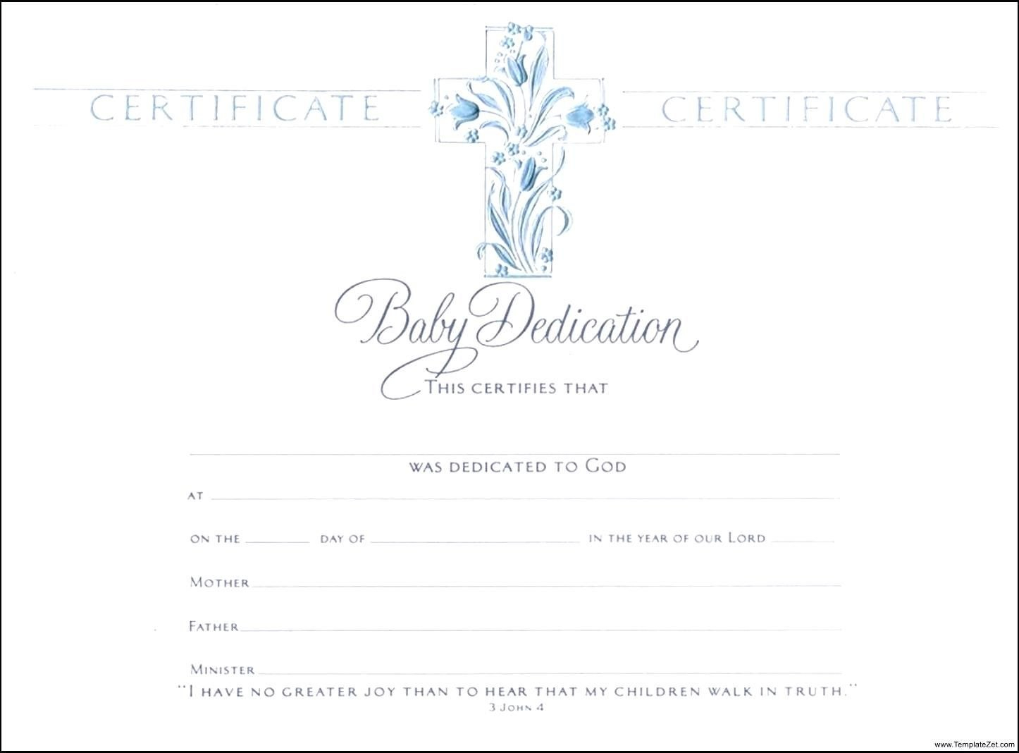 Template Baptismal Certificate Template Baptism   Baby Pertaining To Baby Christening Certificate Template