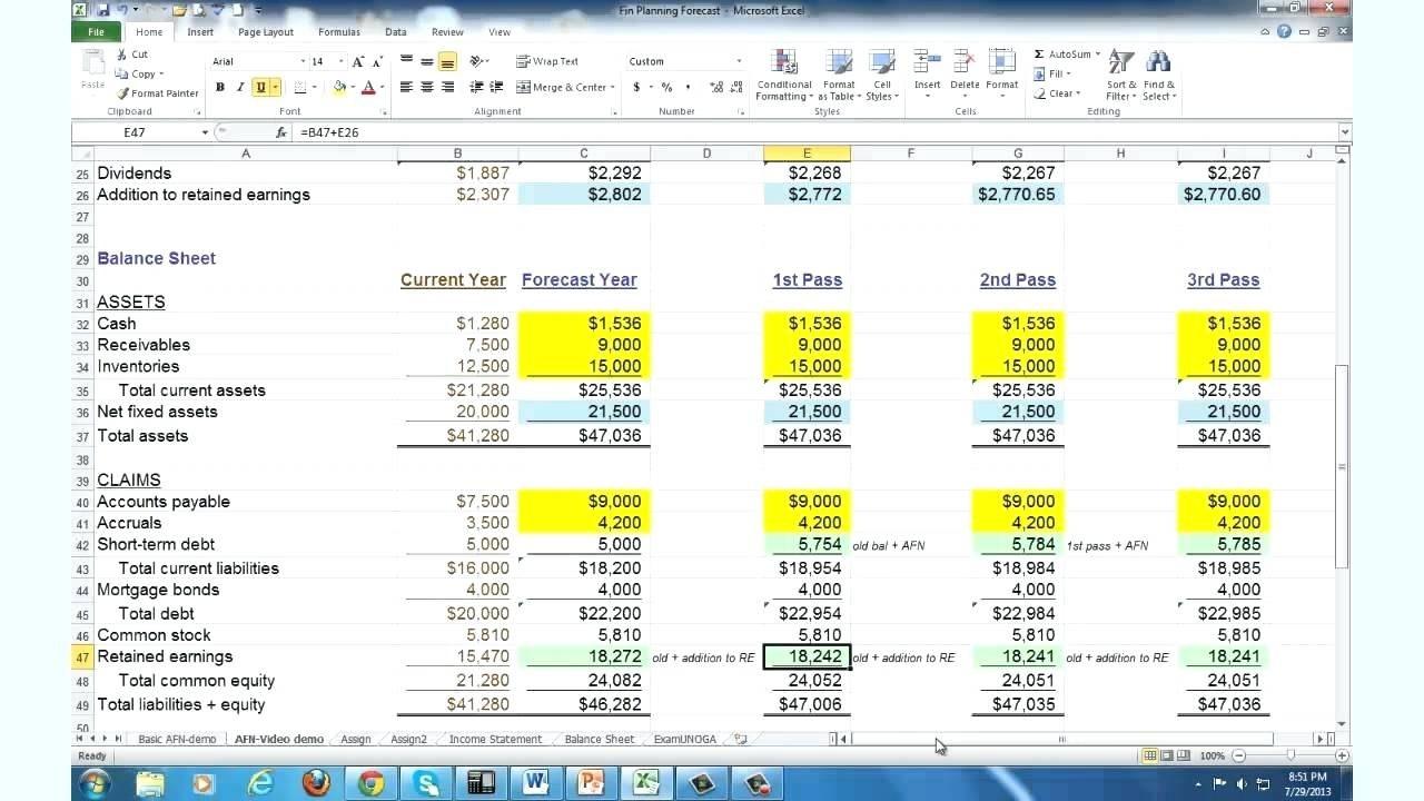Template Business Forecast Spreadsheet Template Men's Quilted Inside Business Forecast Spreadsheet Template
